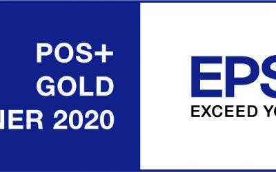 POSBOX ist EPSON POS+ Gold Partner 2020